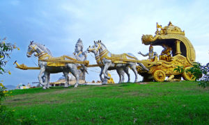 The chariot of Arjuna